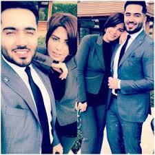 بعد انتشار صورهما معا إعلامي عراقي ينفي خطوبته من شمس الكويتية