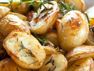 البطاطا المشوية