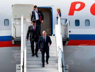 طائرة فلاديمير بوتين