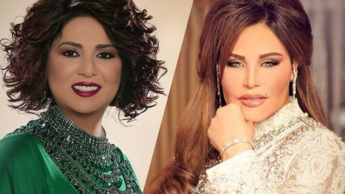 799fd3fa7 المياه تعود إلى مجاريها... نوال الكويتية تهنىء أحلام بنجاح حفلها ...