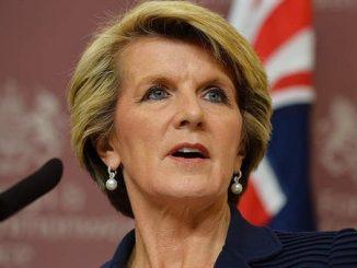 وزيرة الخارجية الأسترالية