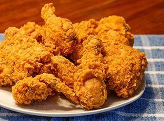 الدجاج المقرمش