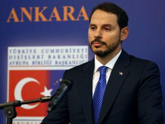 وزير المالية التركي