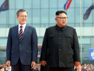زعيمي الكوريتين