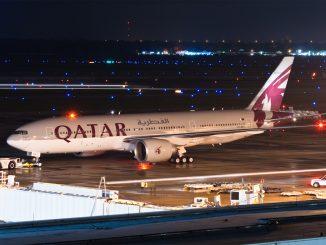 طائرة قطرية