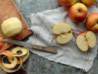 قشور التفاح